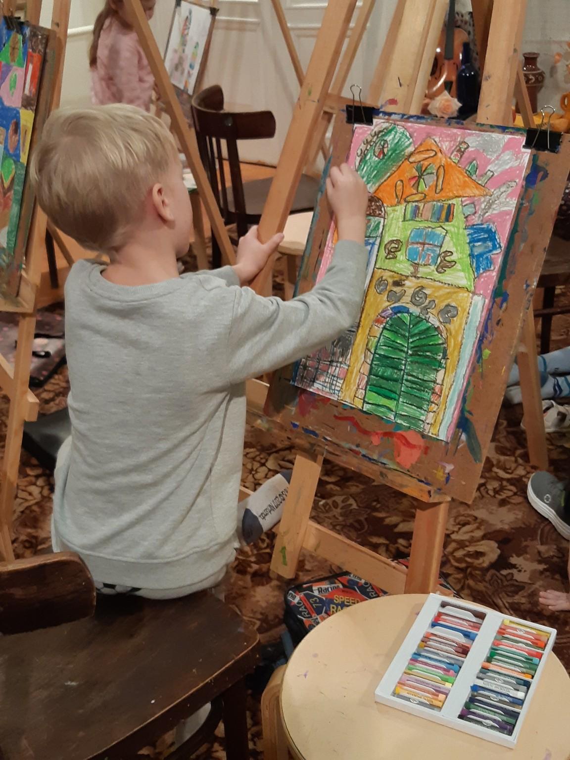 Яблучанский Кузьма, 7 лет