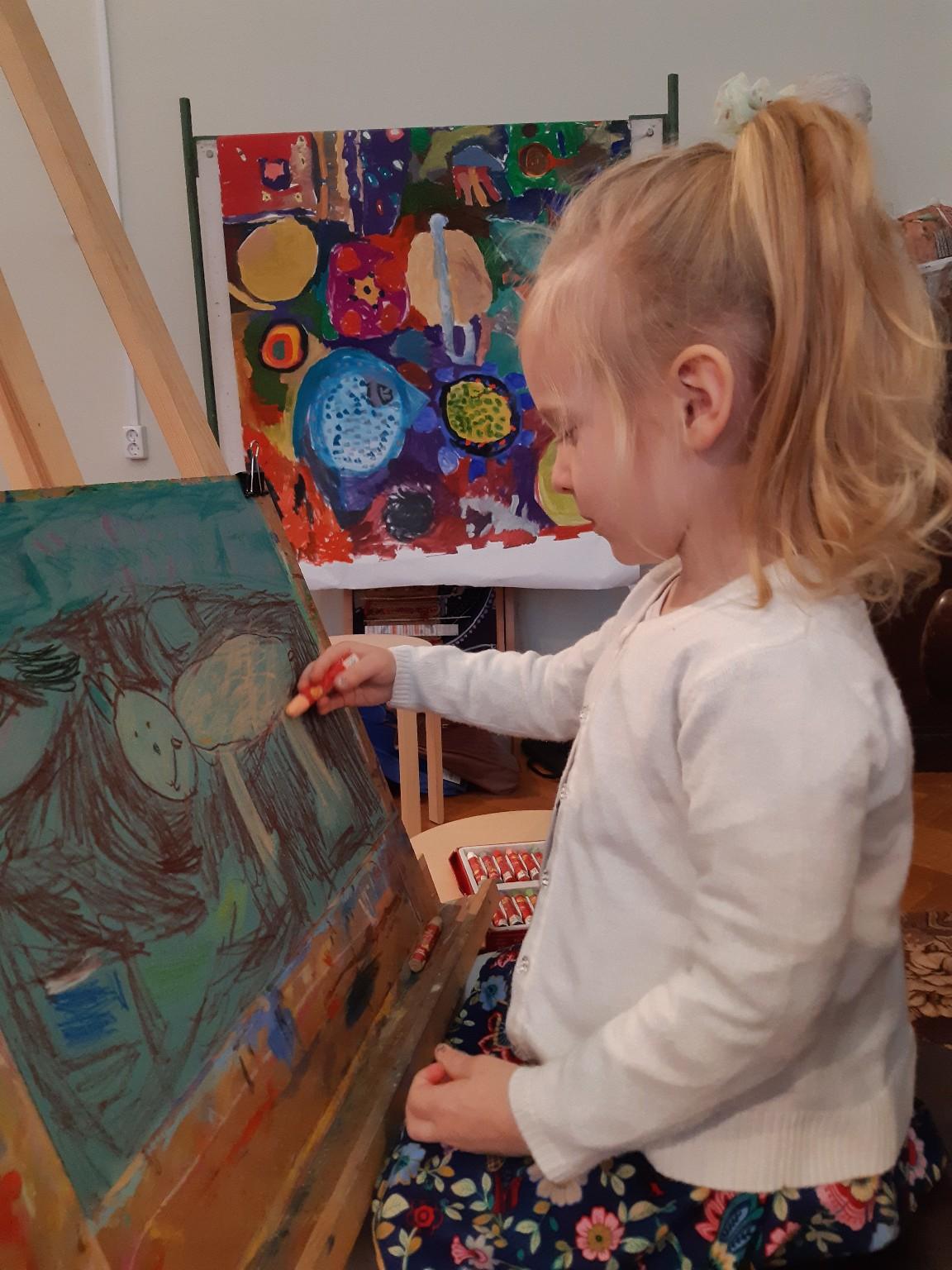 Куприянова Ядвига, 5 лет