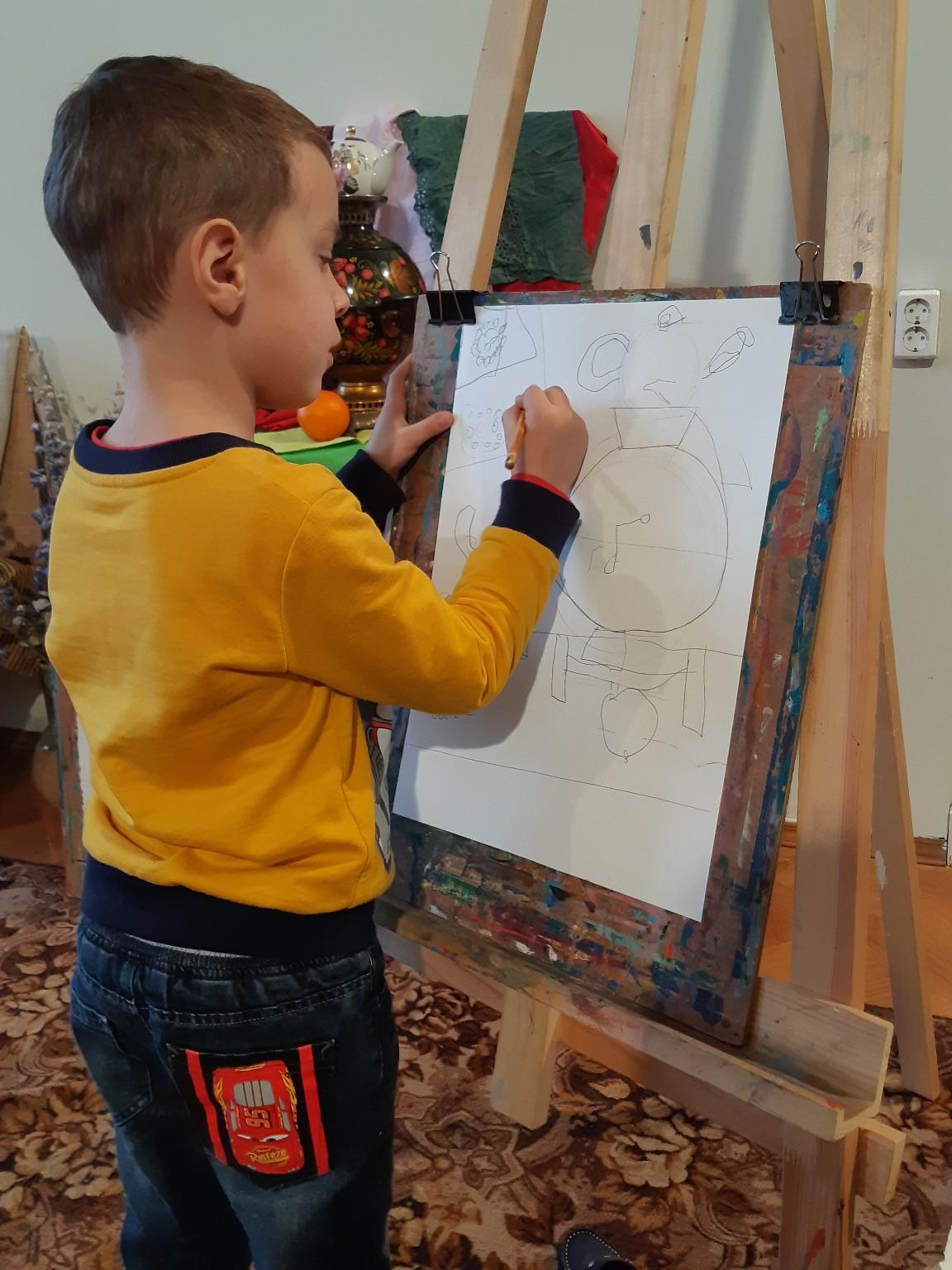 Старостенко Иван, 5 лет